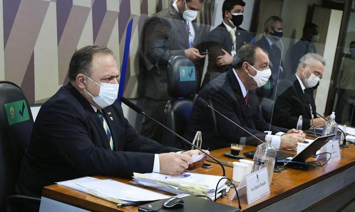 CPI: Pazuello diz que não foi orientado a indicar tratamento precoce (Foto: Edilson Rodrigues/ Agência Senado)