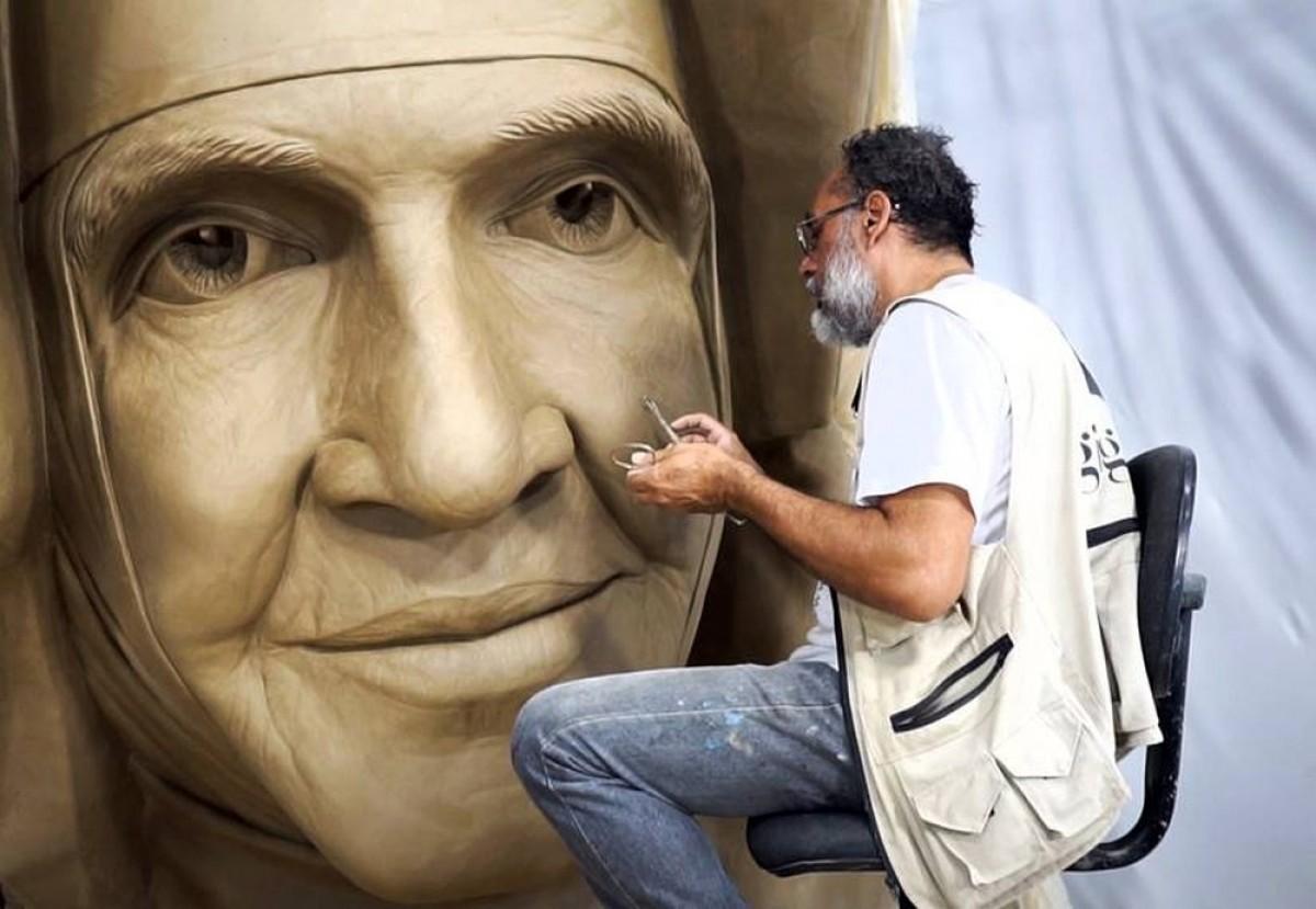 RioMar Aracaju recebe exposição inédita, em homenagem à Santa Dulce dos Pobres (Foto: Divulgação)
