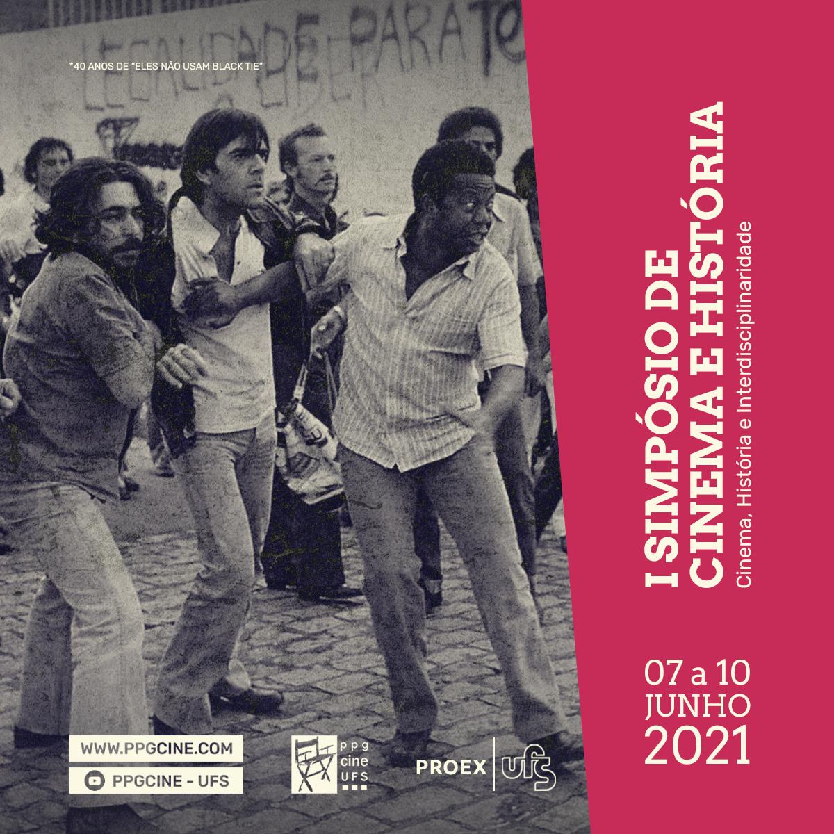 PPGCINE realiza o I Simpósio de Cinema e História (Imagem: Divulgação)