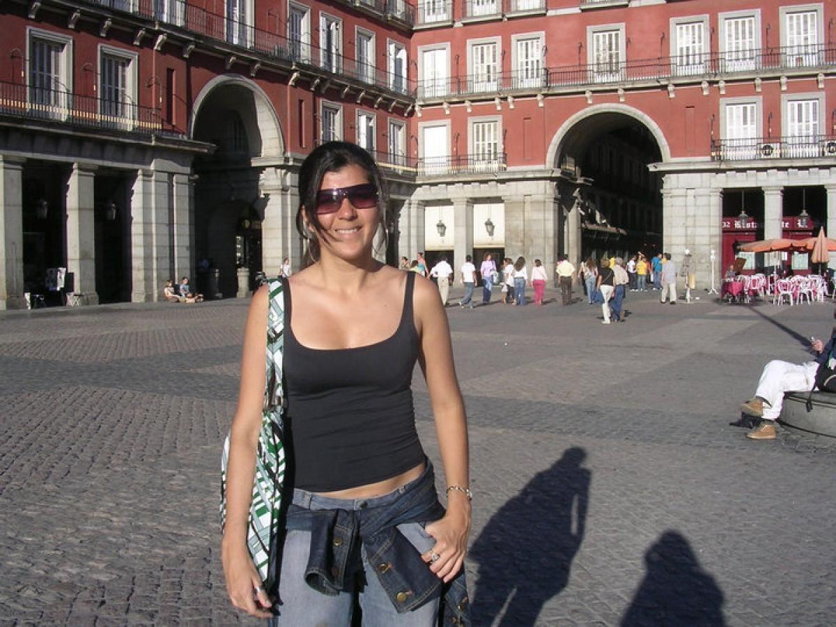 Plaza Mayor é onde acontece o burburinho turístico da cidade (Foto: Carla Passos)