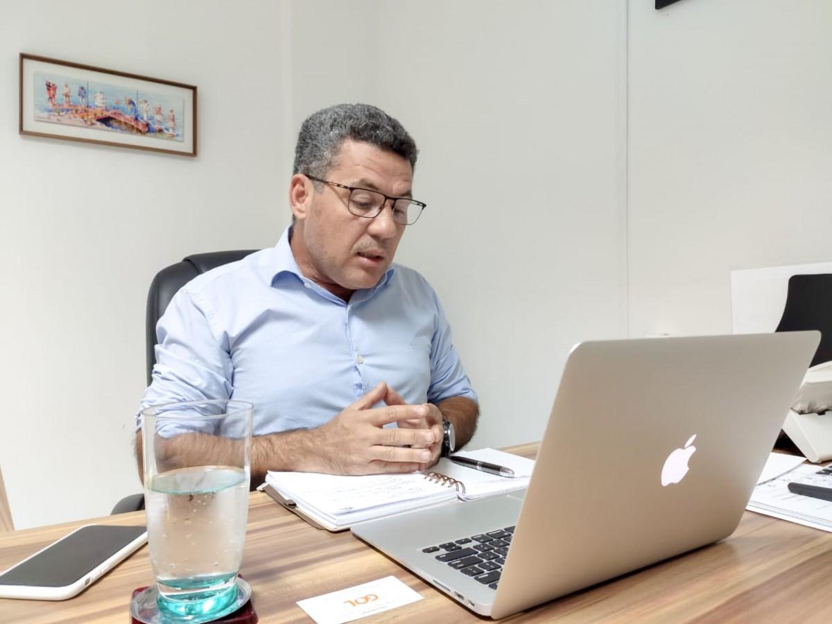 Secretário de Estado do Turismo, Sales Neto (Foto: Matheus Moura)