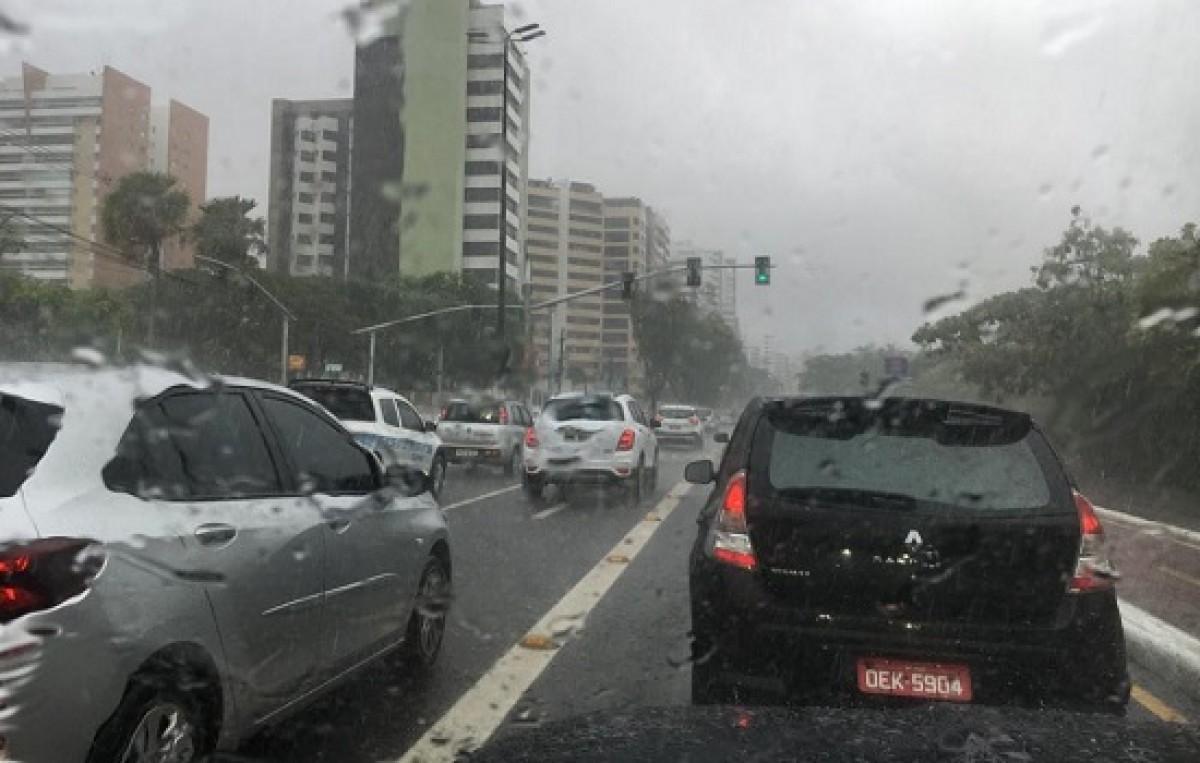 A maior concentração de chuvas está prevista para a região da Grande Aracaju (Foto: Sedurbs/SE)