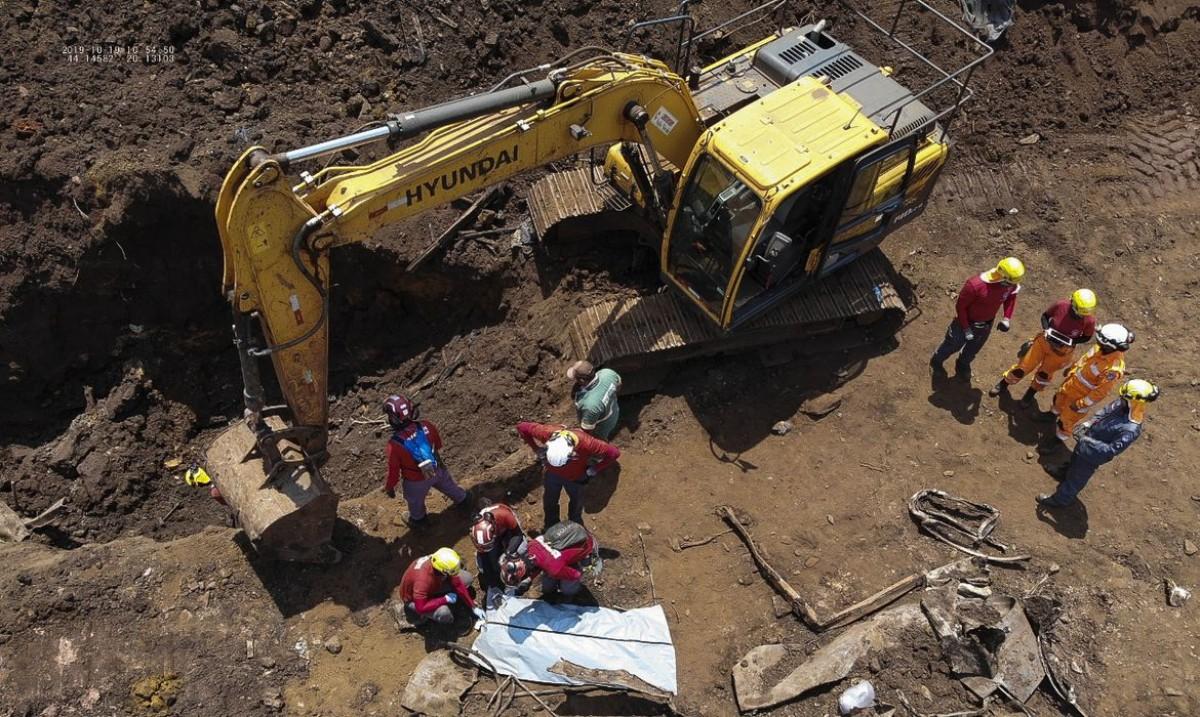 Vale terá de pagar R$ 1 milhão a cada empregado morto em Brumadinho (Foto: Divulgação/ Corpo de Bombeiros de Minas Gerais)