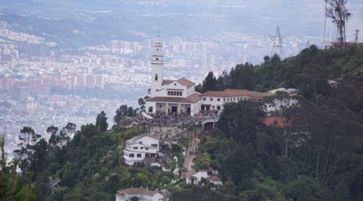 Do alto do Monterrrate a vista é belíssima (Foto: David Ramos)