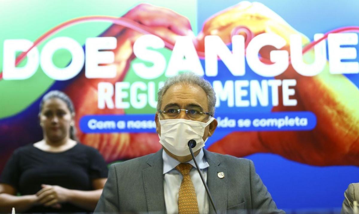 Ministério da Saúde lança campanha de doação de sangue (Foto: Marcelo Camargo/ Agência Brasil)