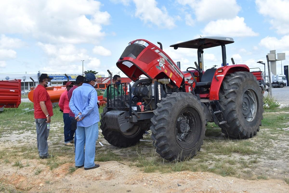 Inscrições abertas para o curso de Manutenção de máquinas e implementos agrícolas (Foto: Assessoria Senar/SE)
