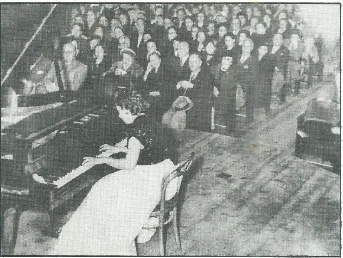 Helena Lorenzo Fernandez em concerto em Roma (Foto: Arquivo)