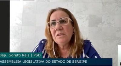 Goretti Reis defende vagas para enfermagem forense em concurso público para cargos na Segurança Pública (Foto: Assessoria Goretti Reis)