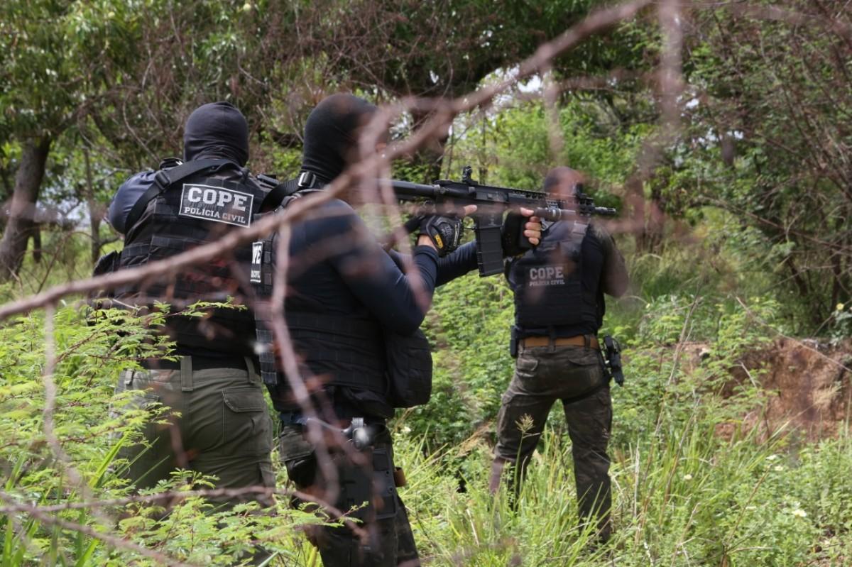Operação Chavinha: Polícia deflagra operação de combate a grupo especializado em receptação de carga no Nordeste (Foto: SSP/SE)