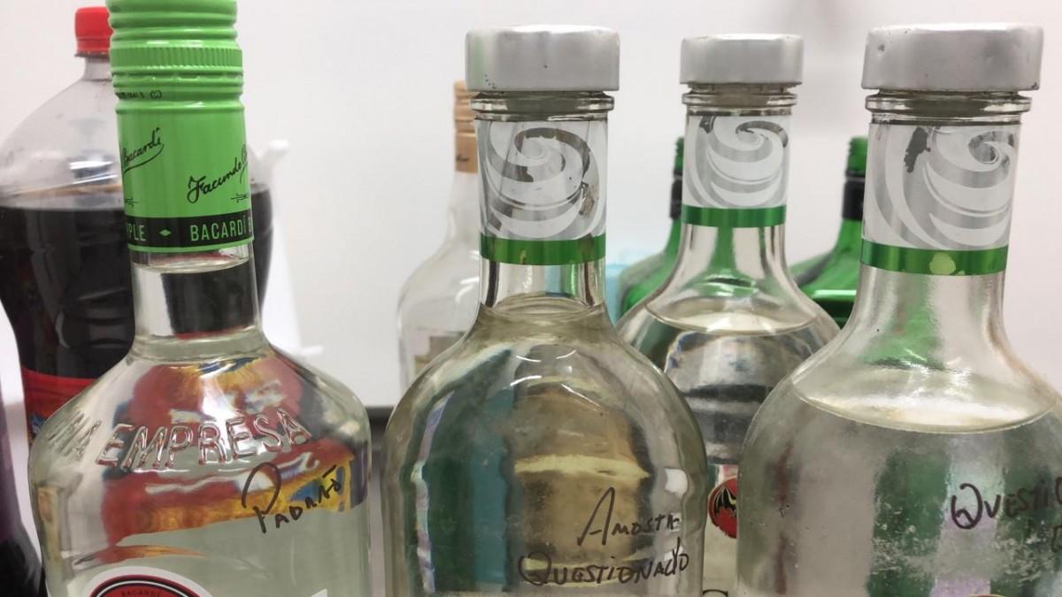 Perícia alerta para risco de morte no consumo de bebidas alcoólicas adulteradas (Foto: SSP/SE)