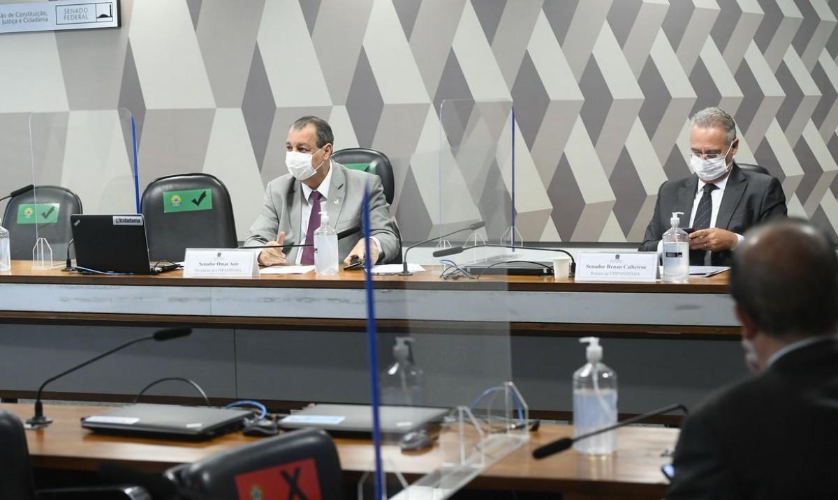 Relator da CPI da Pandemia divulga lista de investigados (Foto: Marcos Oliveira/ Agência Senado)