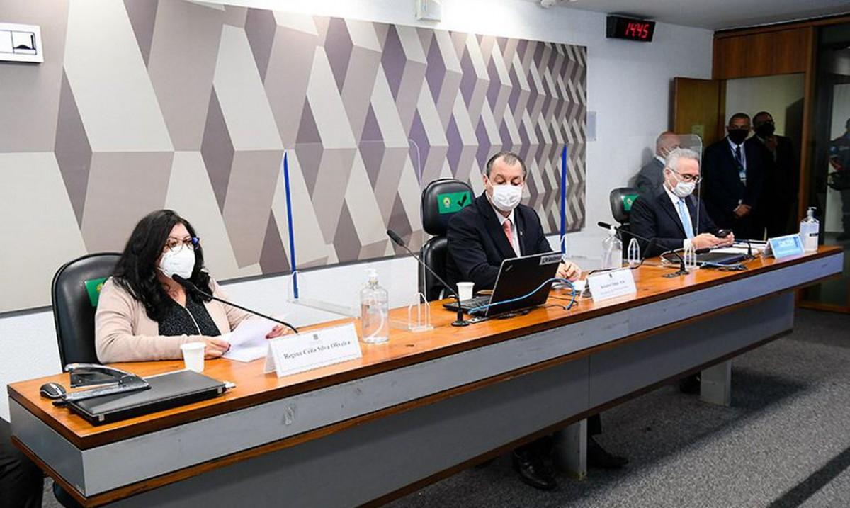 CPI: fiscal de contratos nega irregularidades em processos de vacinas (Foto: Marcos Oliveira/ Senado Federal)