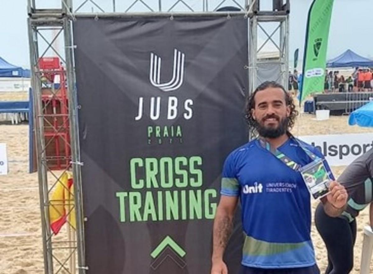 Gabriel Ribeiro, estudante do curso de Educação Física e atleta de Cross Training em Sergipe (Foto: Assessoria de Imprensa Unit)