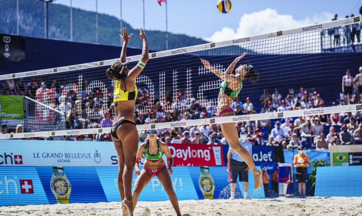 Brasileiras vencem última etapa do vôlei de praia antes de Tóquio (Foto: Divulgação/ FIVB)