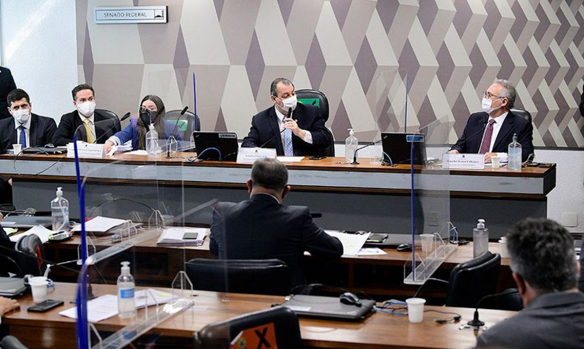 Diretora da Precisa diz não haver ilegalidade em negociação da Covaxin (Foto: Pedro França/ Senado Federal)