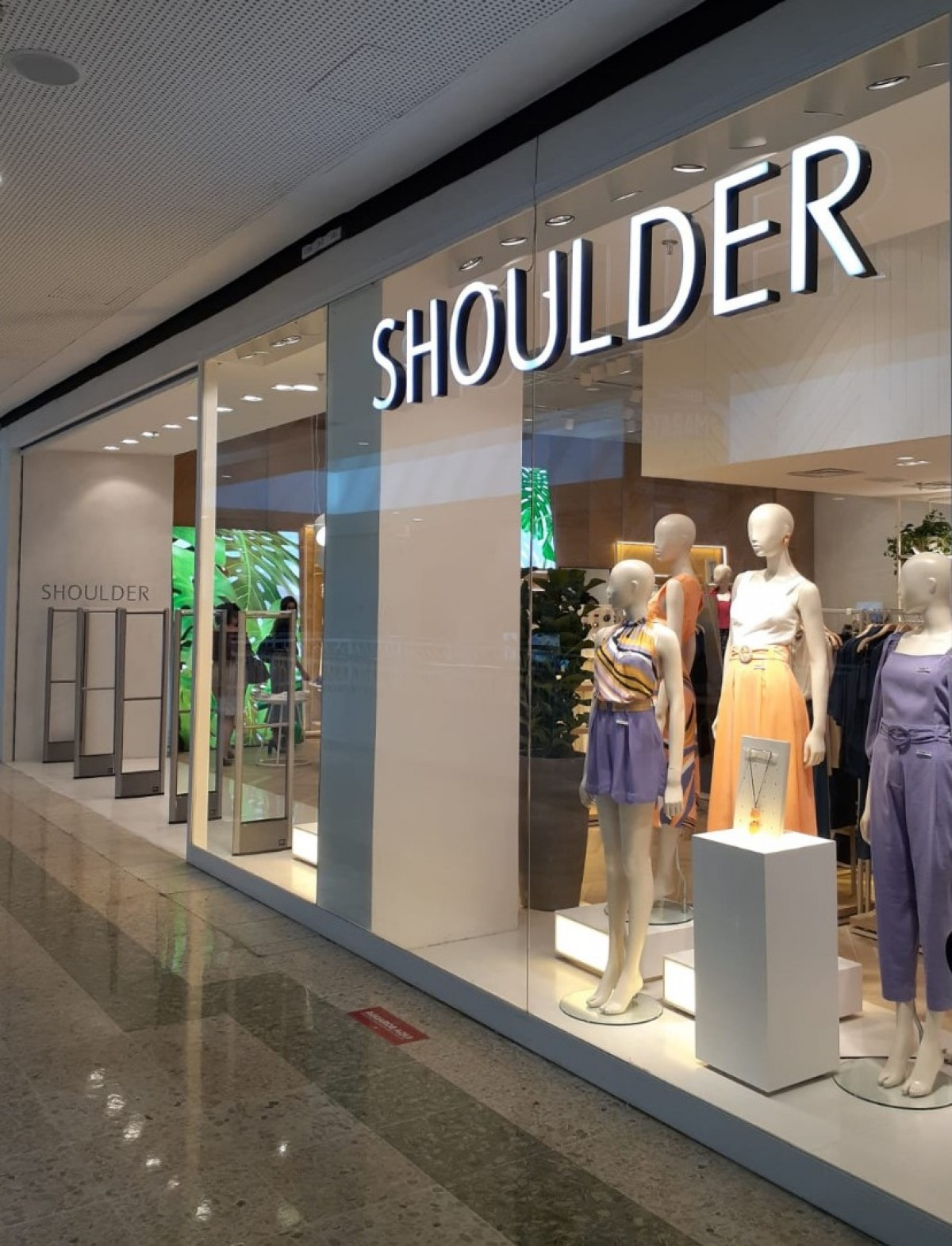 Shoulder inaugura sua primeira loja em Aracaju (Foto: Divulgação)