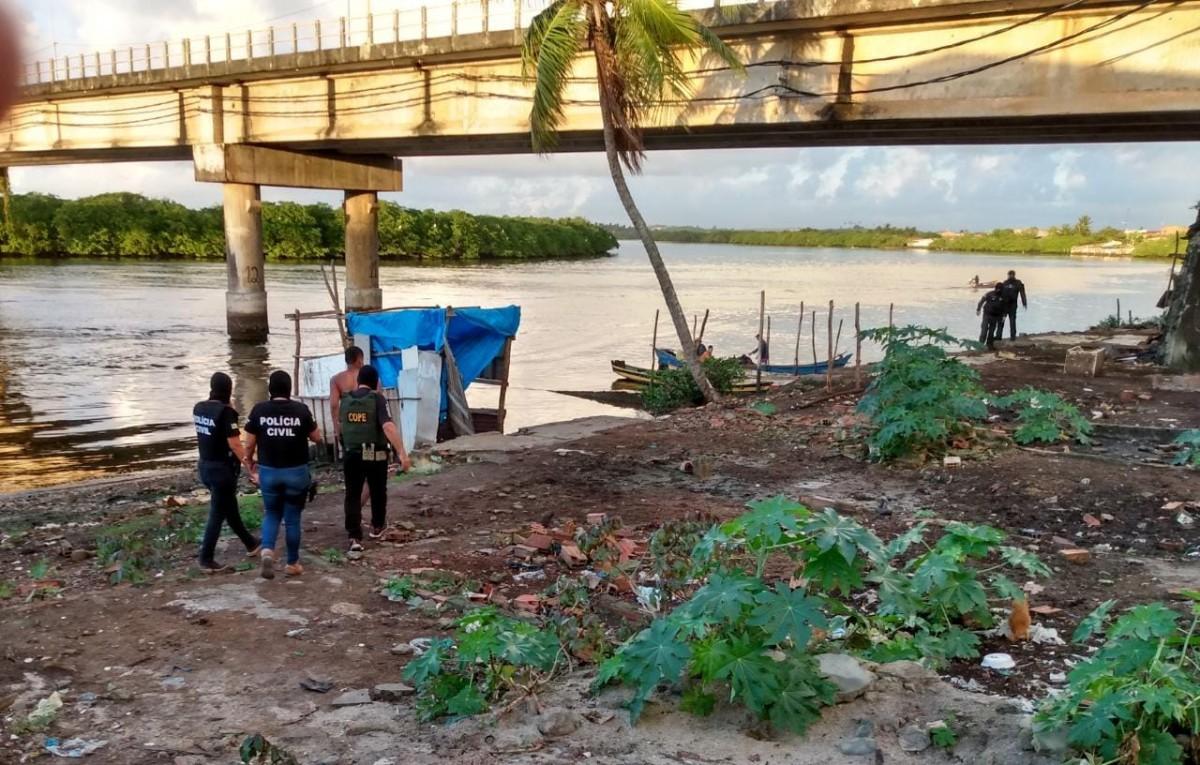Operação Pescaria: Denarc deflagra operação e prende oito no combate ao tráfico de drogas (Foto: SSP/SE)