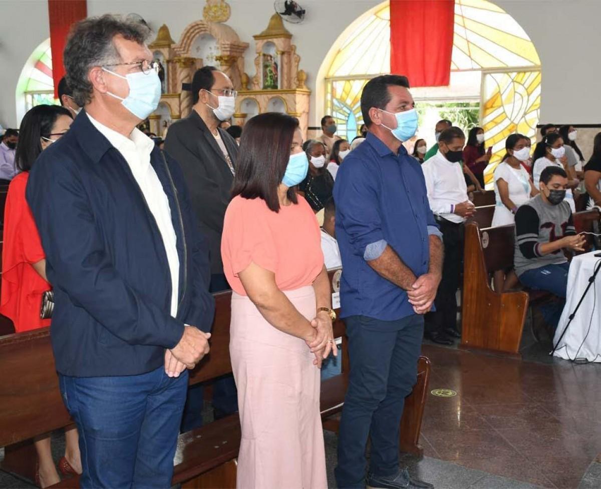 Laércio Oliveira cumpre agenda na Região Centro Sul do Estado (Foto: Site Laércio Oliveira)
