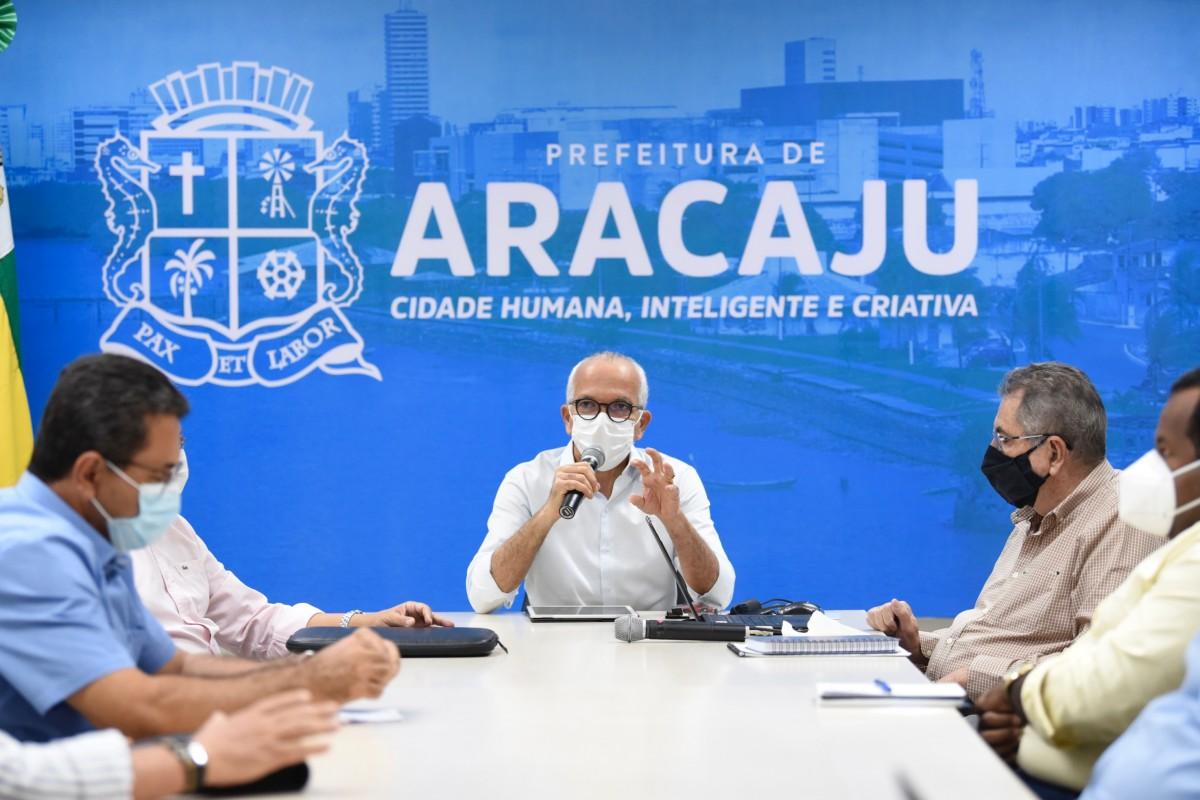 Prefeito Edvaldo cria grupo para discutir projeto de revitalização do Centro de Aracaju (Foto: Ana Lícia Menezes/ Prefeitura de Aracaju)