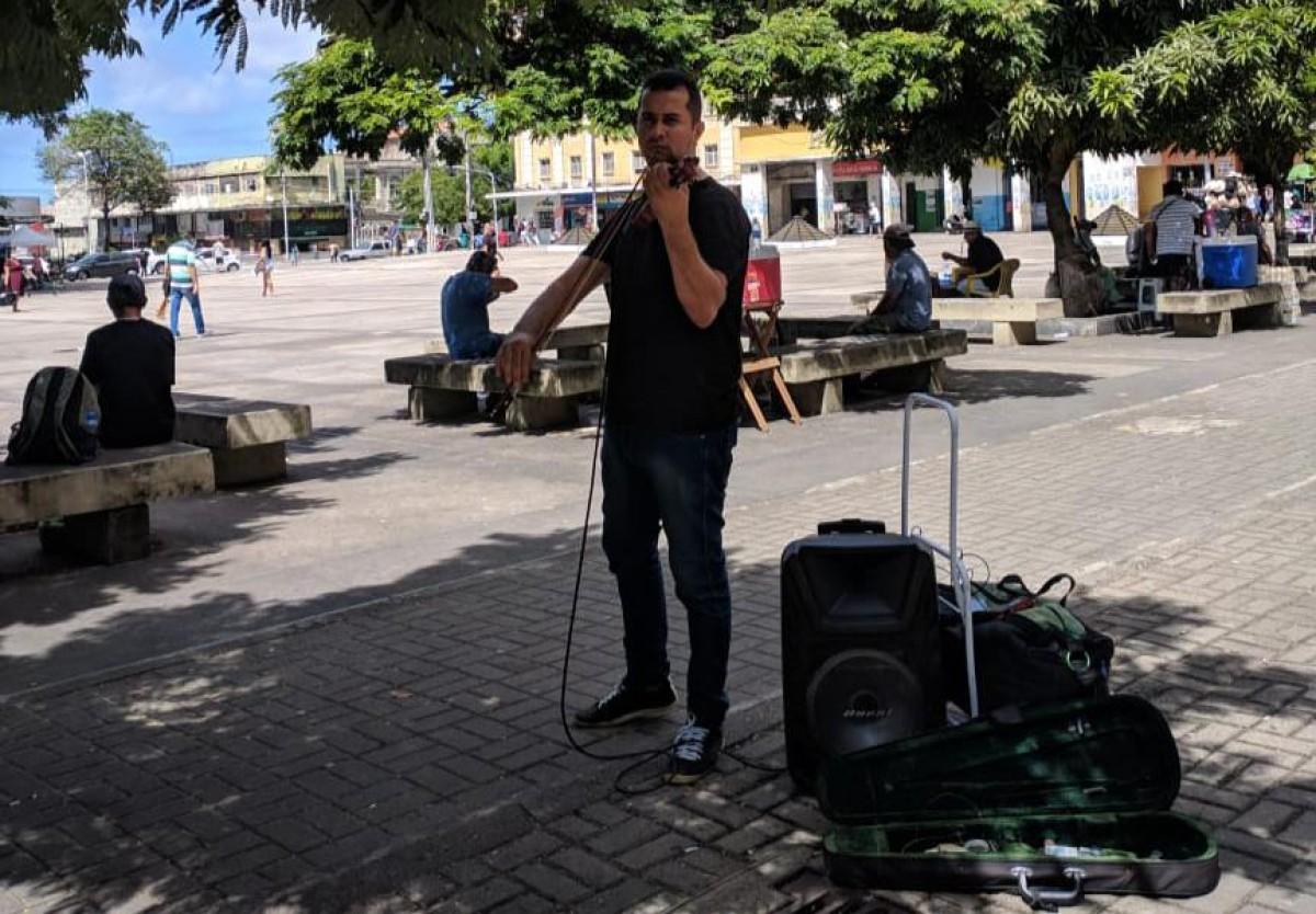Violinista Horácio Chagas (Foto: Assessoria)