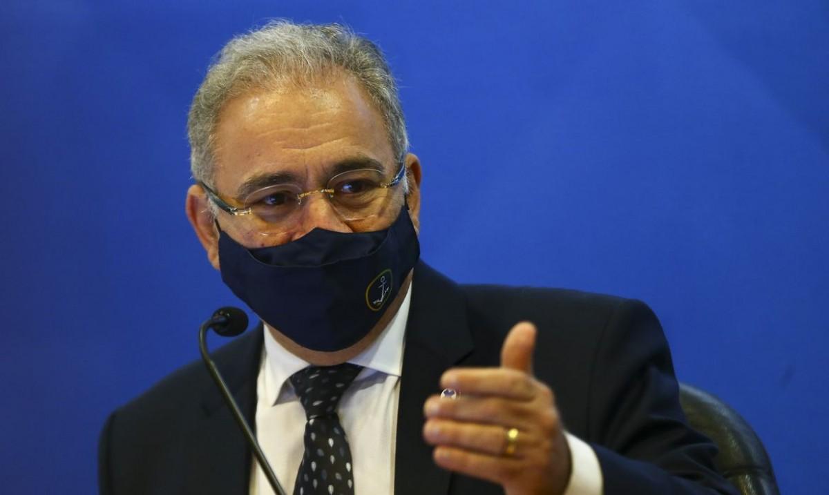 Ministro da Saúde, Marcelo Queiroga (Foto: Marcelo Camargo/ Agência Brasil)