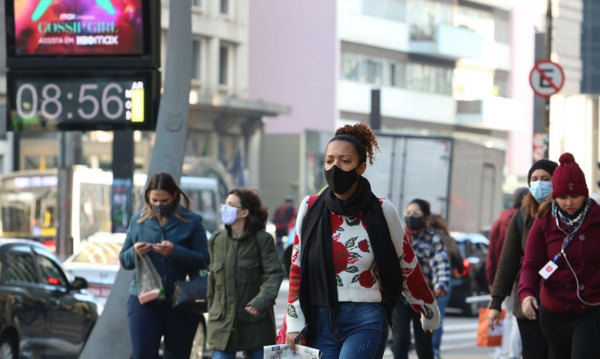 São Paulo tem novo recorde de frio: 4,7°C (Foto: Rovena Rosa/ Agência Brasil)