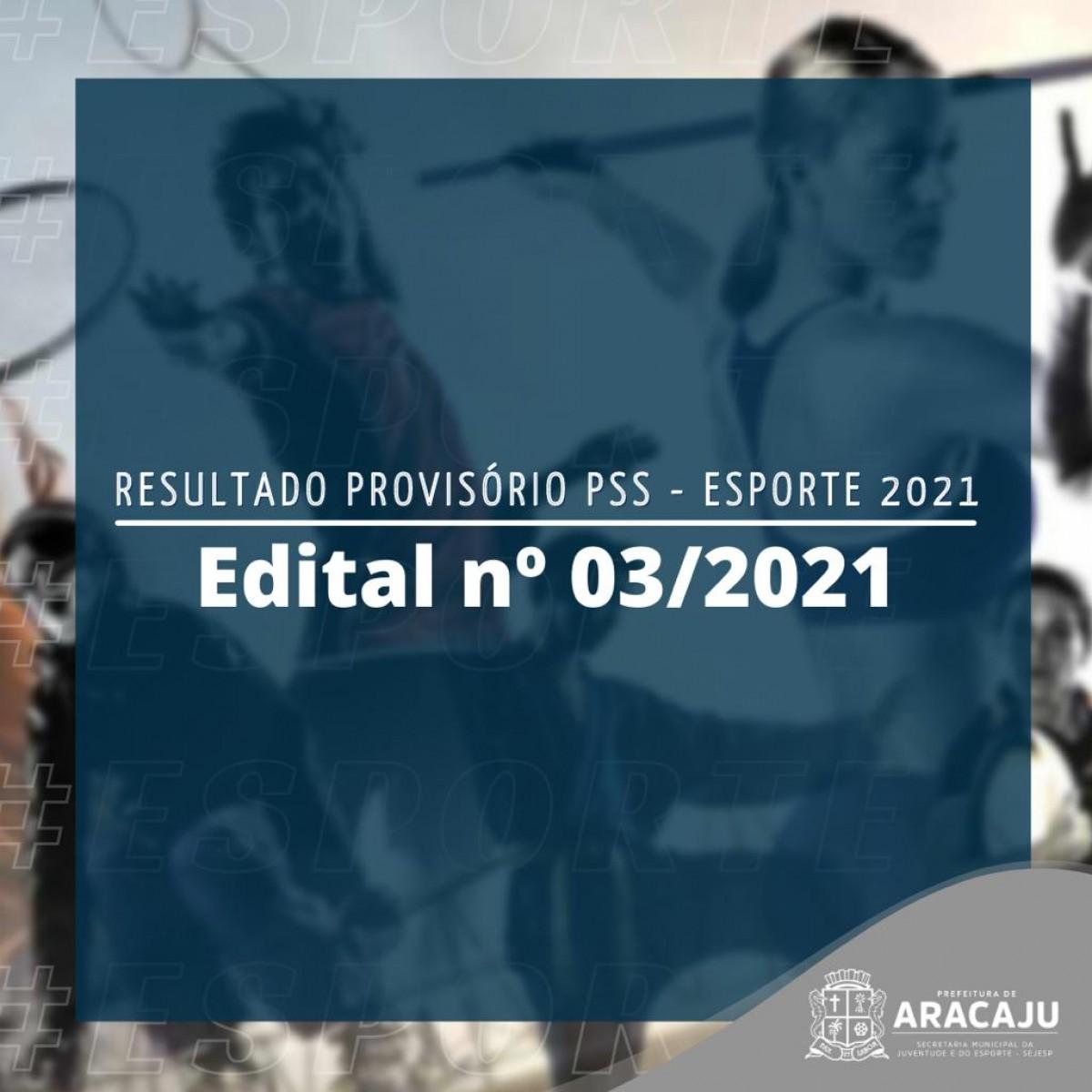PSS Esporte: classificados são convocados para entrega de títulos e documentos (Arte: Ascom Sejesp Aracaju)