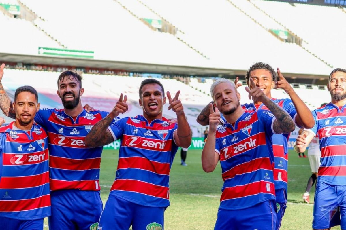 O Fortaleza, 3º colocado na Série A, tem contrato com a TNT Sports (Foto: Fortaleza/ Divulgação)
