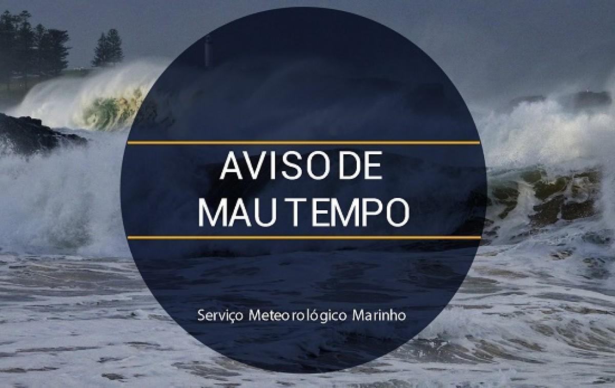 O mesmo sistema poderá ocasionar ventos de direção Sudeste a Leste, com intensidade de até 60 km/h (Foto: Marinha do Brasil)