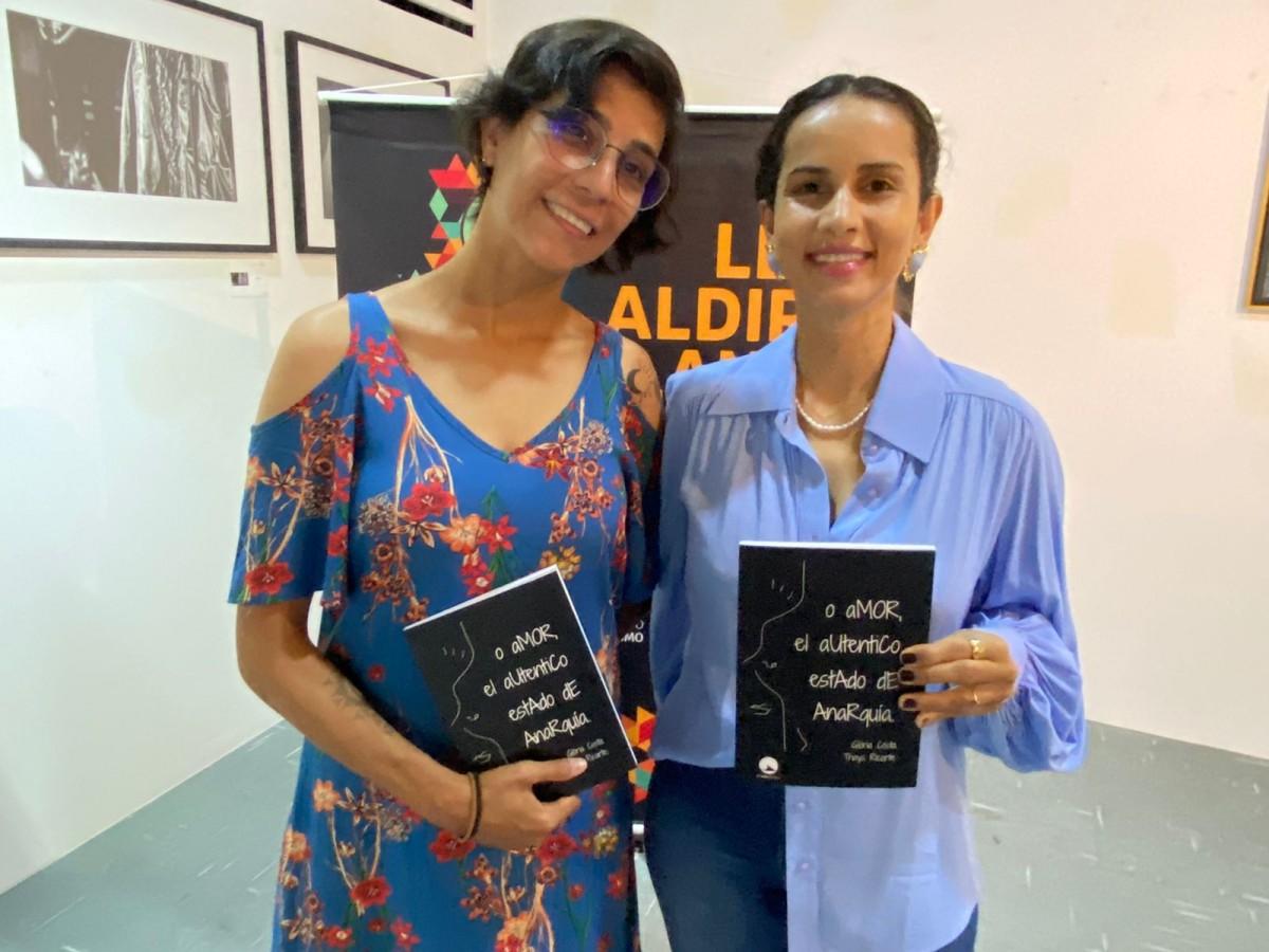 Glória Costa e Thays Ricarte lançam livro nesta quinta-feira, na galeria Mário Britto (Foto: Assessoria)