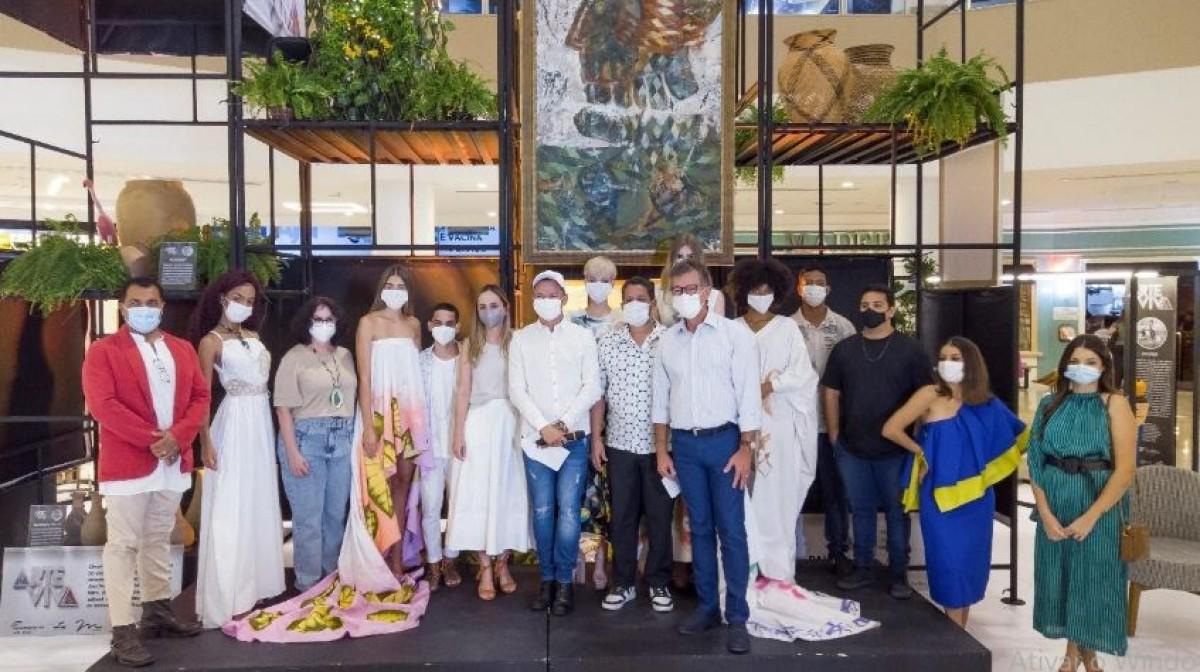 Senac prestigia desfile do Circuito de Moda Arte Viva (Foto: Assessoria Senac/SE/ Base Propaganda)