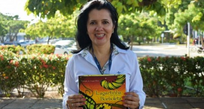 Rosangela Aragão Maia, escritora infantojuvenil (Foto: Assessoria de Imprensa Unit)