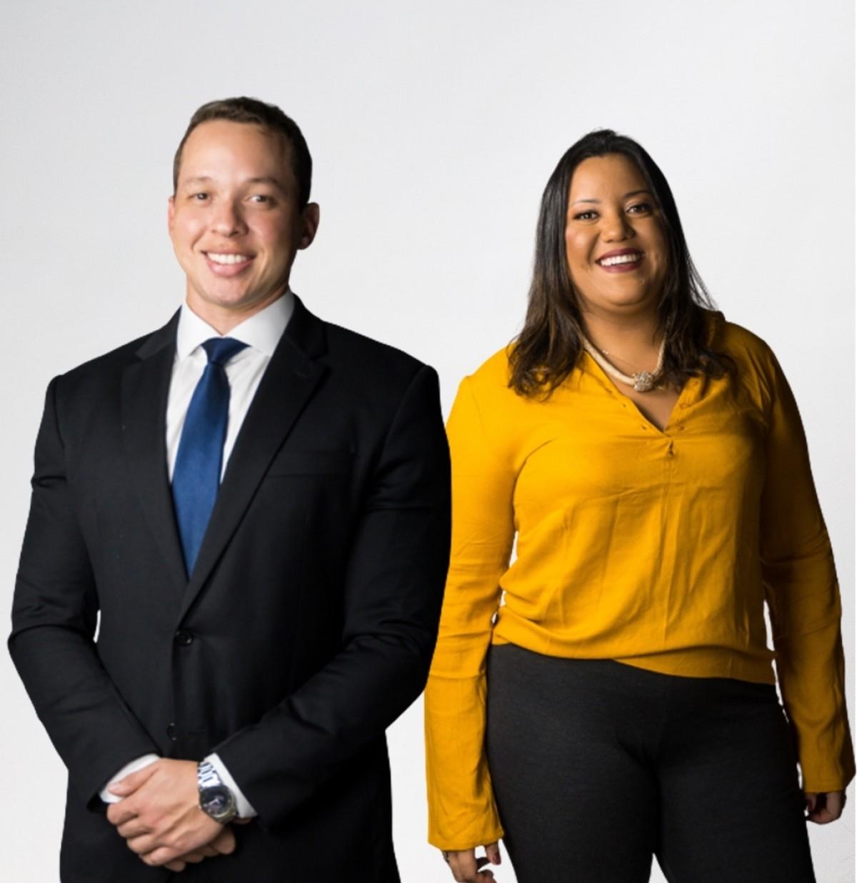 Dr. Andress Amadeus e Dra. Lorena Dayse (Foto: Rodrigo Alves)