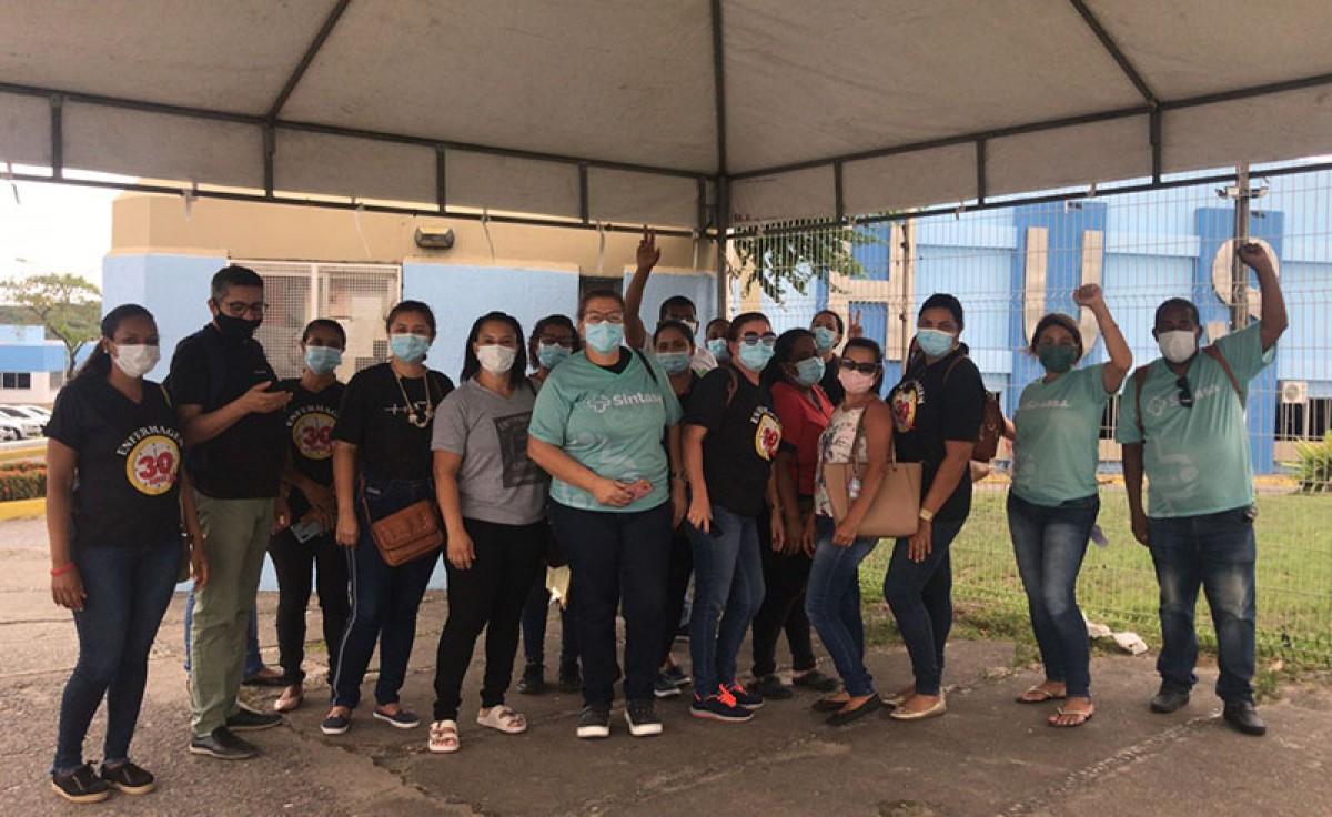 Servidores da saúde, representados pelo Sintasa, aprovam proposta da gestão do Acordo Coletivo (Foto: Sintasa/SE)