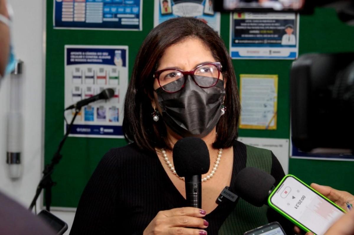 Variante Delta: Secretária de Saúde reforça a necessidade das medidas de proteção e vacinação (Foto: SES/SE)