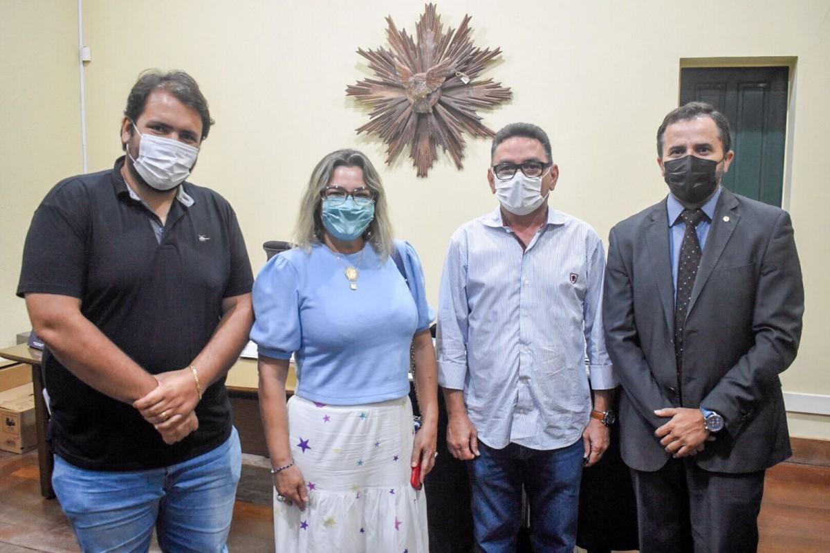 Mandato Ativo: Janier Mota busca ações de segurança para o Sul e Sertão (Foto: Assessoria Janier Mota)
