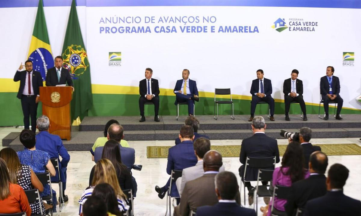 Governo lança parceria com estados no Programa Casa Verde e Amarela (Foto: Marcelo Camargo/ Agência Brasil)