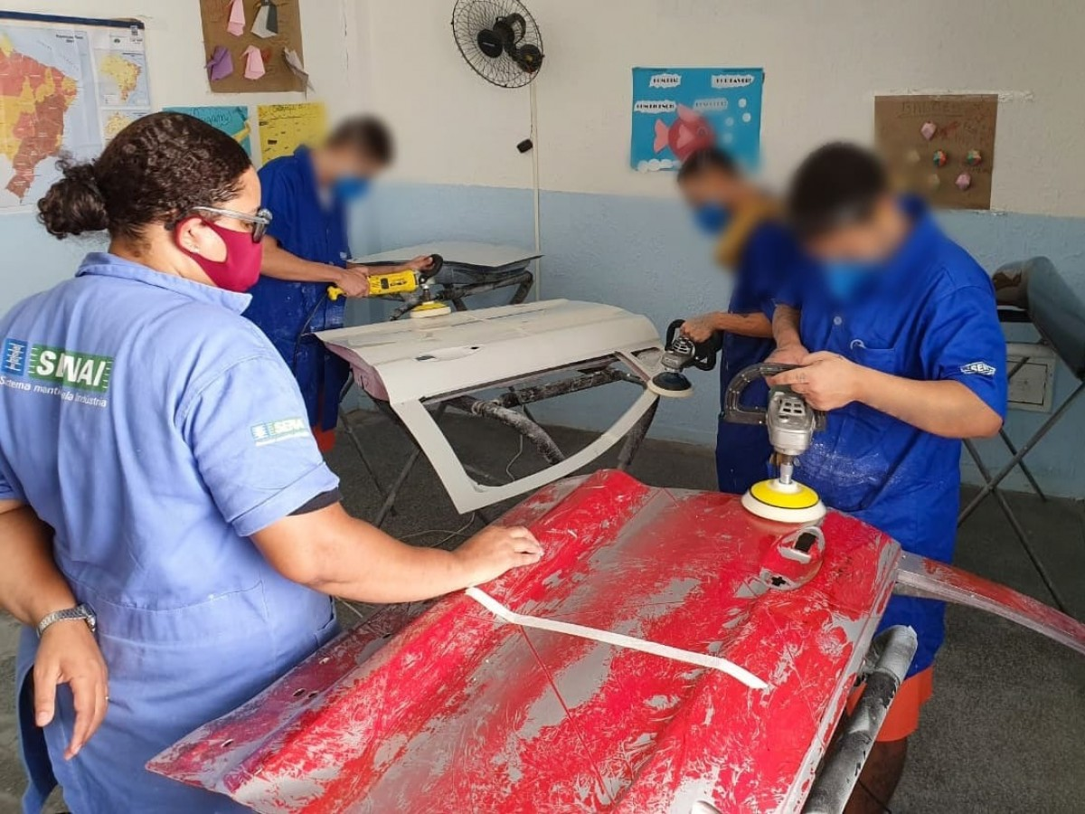 Fundação Renascer inicia 5ª turma de curso profissionalizante para socioeducandos (Foto: Seias/SE)