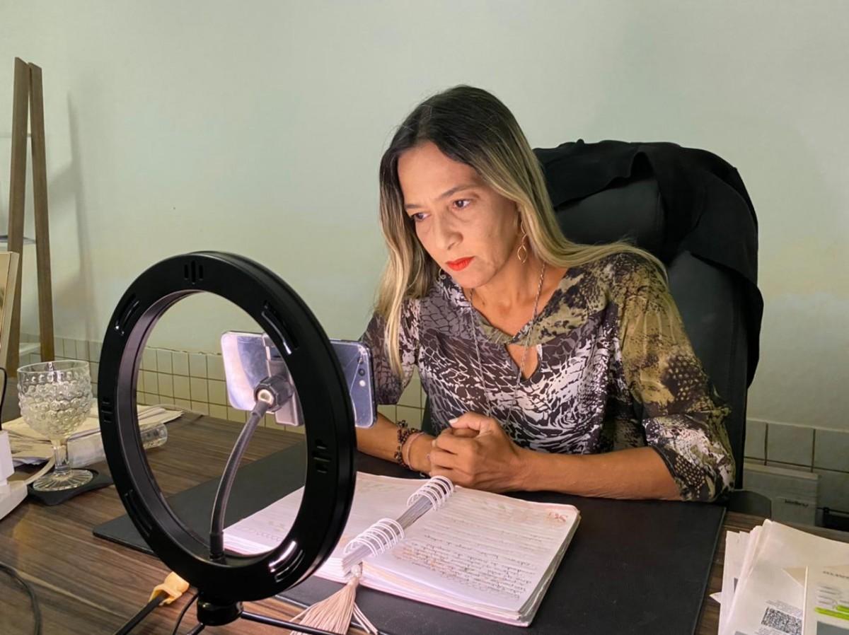 Sheyla Galba cobra apuração de possíveis fraudes e desvios de recursos do Hospital de Campanha apontados pelo MPF (Foto: Assessoria Sheyla Galba)