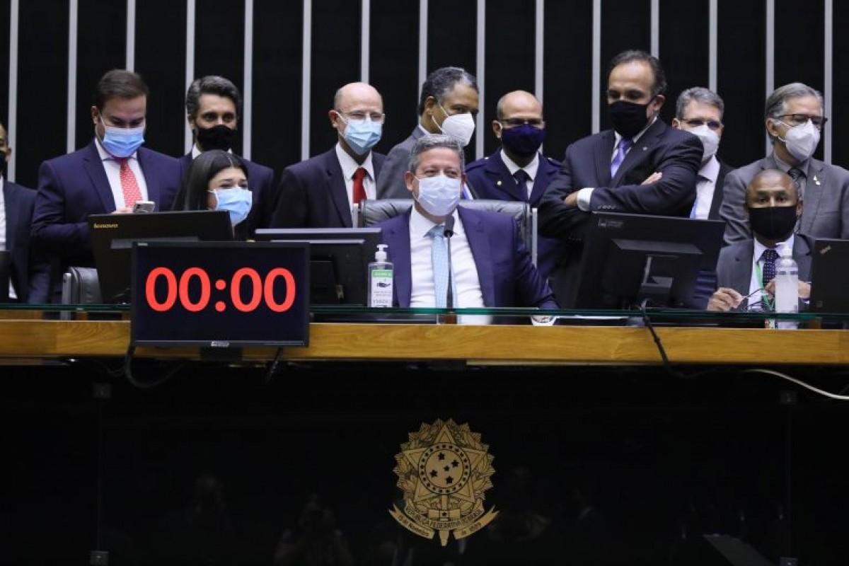 Presidente da Câmara, Arthur Lira, comanda a sessão do Plenário (Foto: Cleia Viana/ Câmara dos Deputados)