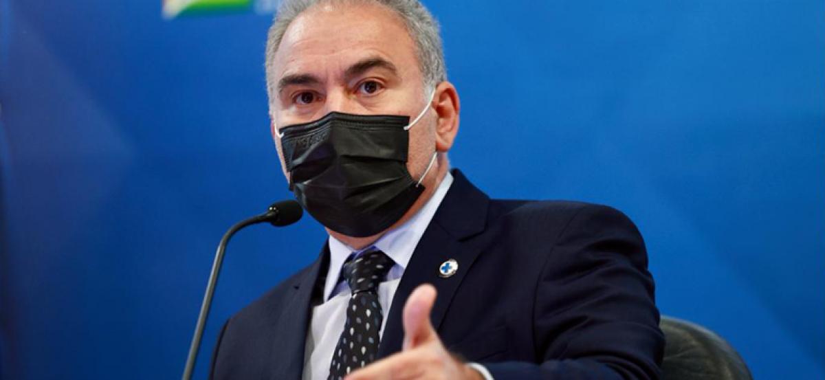Marcelo Queiroga, ministro da Saúde (Foto: Ministério da Saúde)