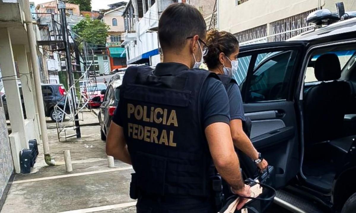 Polícia Federal investiga fraudes no fundo Postalis (Foto: Divulgação/ PF-AM)