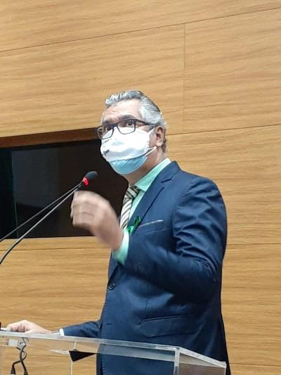 Benito Fernandez, coordenador da Central de Transplante de Sergipe (Foto: Assessoria Maria Mendonça)