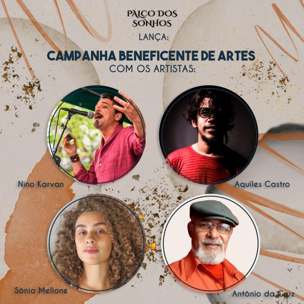 Palco dos Sonhos lança Circuito Beneficente de Artes (Imagem: Divulgação)