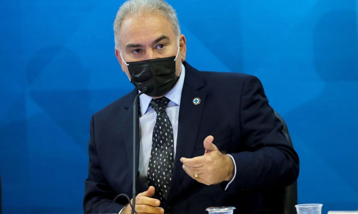 Ministro da Saúde, Marcelo Queiroga (Foto: Wilson Dias/ Agência Brasil)