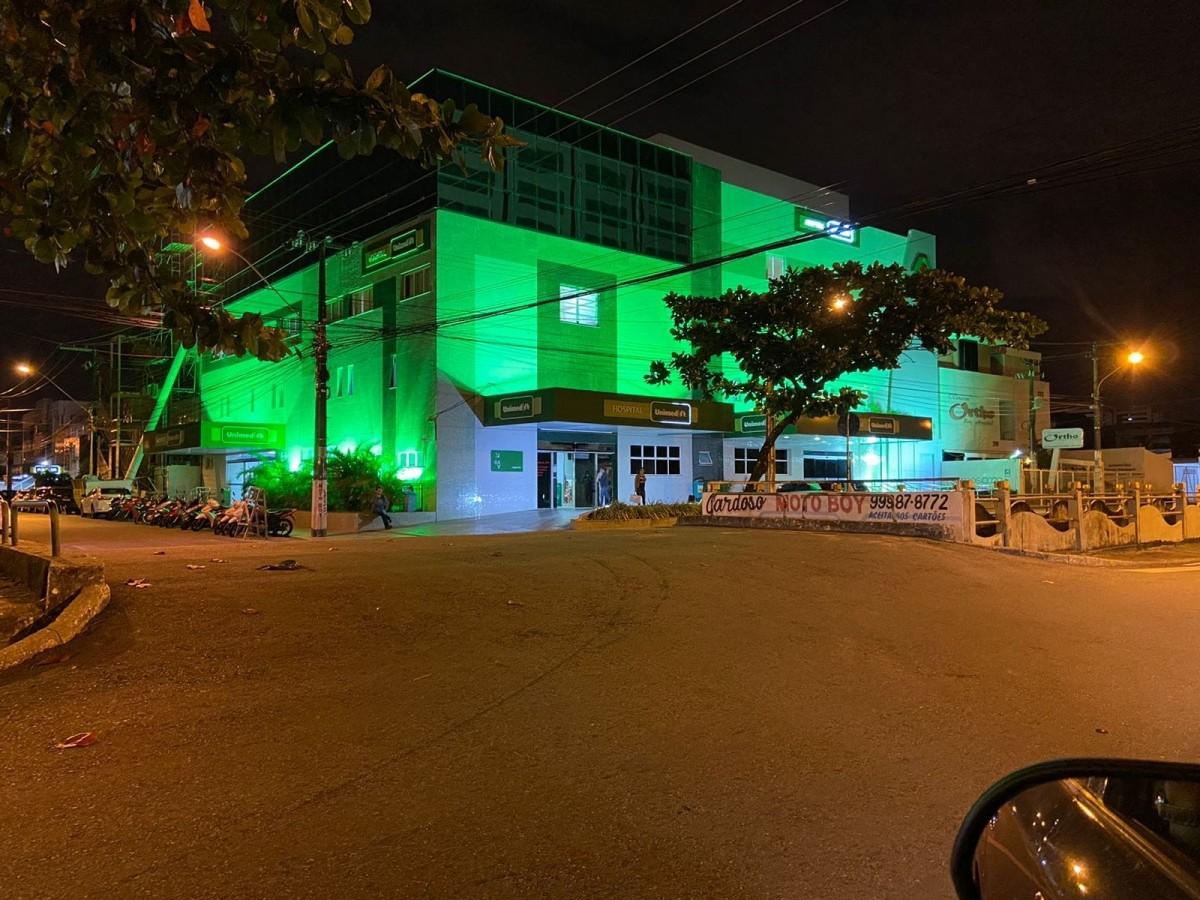 Hospital Unimed adere a campanha Setembro Verde (Foto: Agô Imprensa)