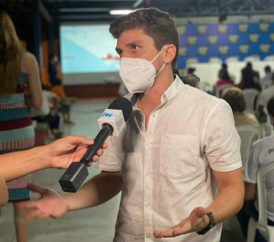 Breno Garibalde participa da primeira audiência pública sobre o Plano Diretor (Foto: Assessoria Breno Garibalde)