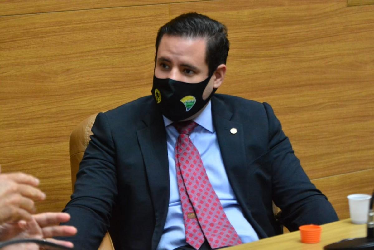 """No dia de prevenção ao uso de drogas, Rodrigo Valadares lamenta """"legalização silenciosa"""" da maconha (Foto: Assessoria Rodrigo Valadares)"""
