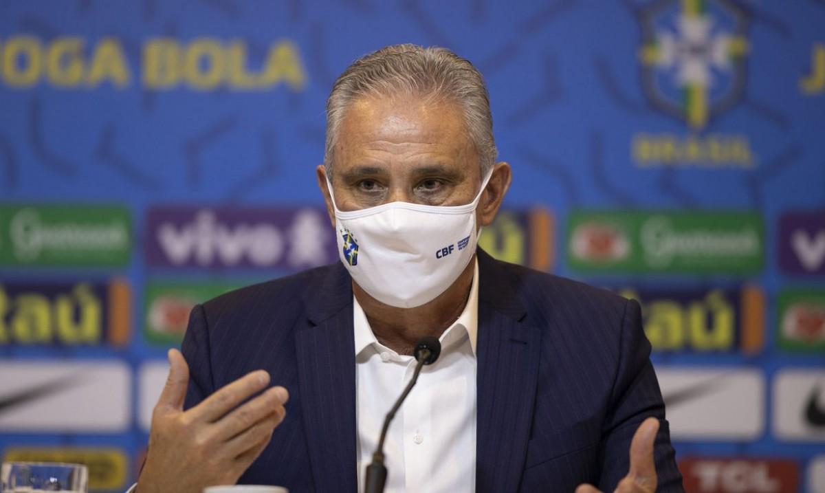 Com jogadores do futebol inglês, Tite convoca seleção brasileira (Foto: Lucas Figueiredo/ CBF)