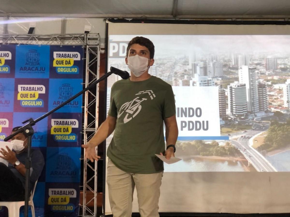 Breno Garibalde alerta sobre a inclusão dos Objetivos de Desenvolvimento Sustentável no Plano Diretor (Foto: Assessoria Breno Garibalde)